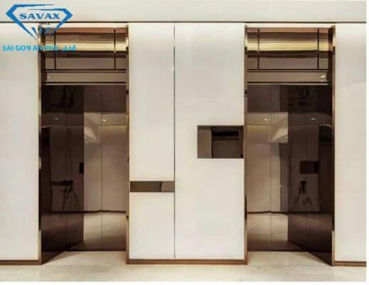 Gia công cabin thang máy