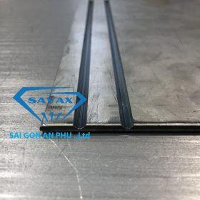 Gia công vách ngăn CNC inox mạ vàng bằng phương pháp cắt laser tại Savax