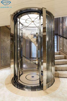Một số mẫu thang máy đẹp