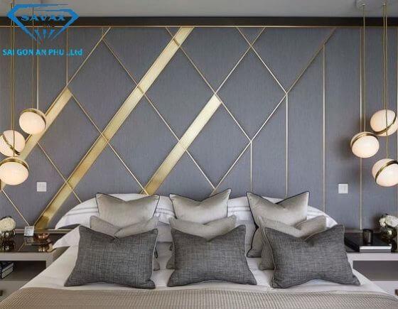 Nẹp inox dùng để trang trí tường