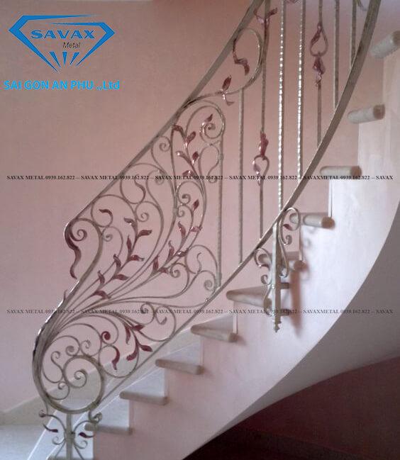 Mẫu vách ngăn cnc cho cầu thang mới nhất