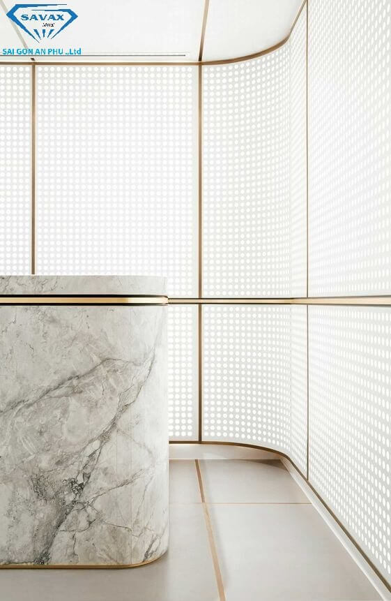 Mẫu nẹp trang trí cho phòng tắm đẹp