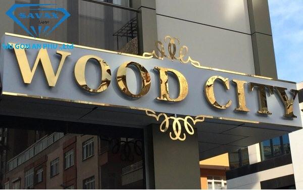Bảng hiệu khách sạn bằng phương pháp cắt chữ cnc