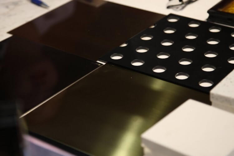 Bảng mã giới thiệu inox 304 vàng xướt