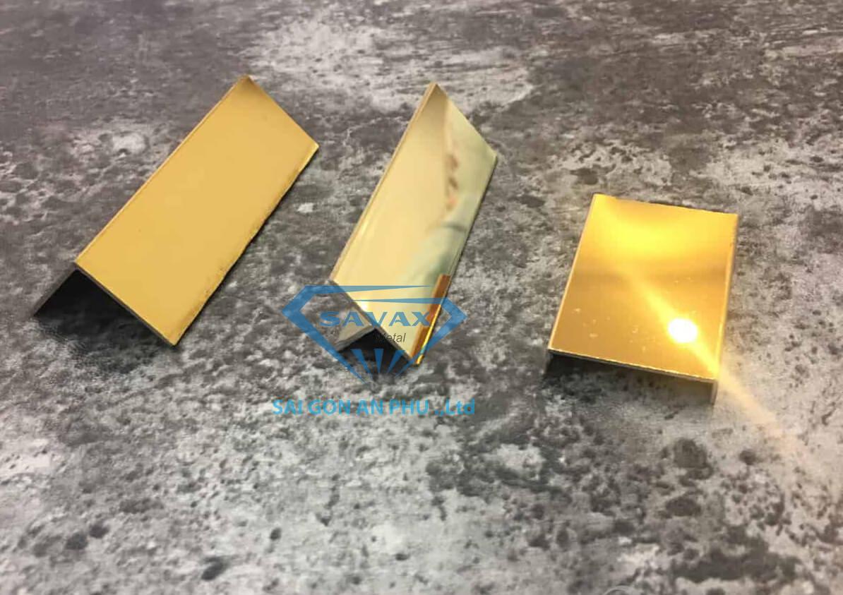 Một số loại nẹp inox phổ biến trên thị trường